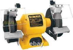 DeWALT DW758 8 Heavy-Duty Bench Top 36 60 Grit Grinder Tool 3/4 HP 3600 RPM