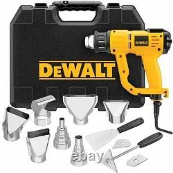 DeWalt D26960K Heavy Duty Heat Gun Kit with LCD Display
