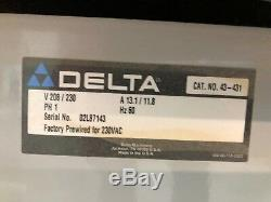 Delta 43-431 Heavy Duty 2 Speed Wood Shaper with Maggi Power Feeder