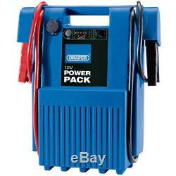 Draper 12v Heavy Duty Portable Power Pack (1600-3200a) Jump Start Booster