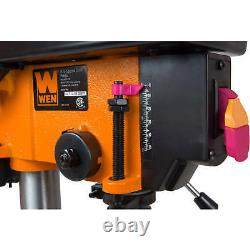 Drill Press 8 Inch 5-Speed Shop Garage Woodworking Power Tool Heavy Duty WEN