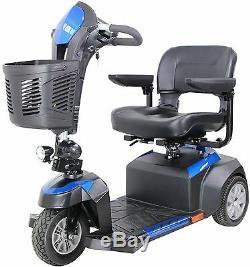 Drive 3 Wheel Ventura Power Scooter Folding Seat 400 lb. Weight Capacity Medical