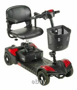 Drive Medical Scout Compact Travel Power Scooter 4 Wheel Extended Battery