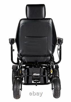 Drive Trident HD Power Chair with 24 Wide Seat, Heavy Duty 450 lb. Weight Cap