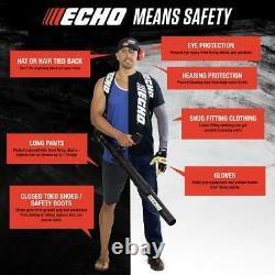 ECHO Leaf Blower 170 MPH 25.4 cc Gas 2-Stroke Commercial Handheld Recoil Start
