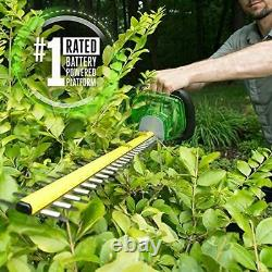 EGO HT2400 POWER+ 56V 24 3/4 Maximum Diameter Cut Cordless Hedge Trimmer