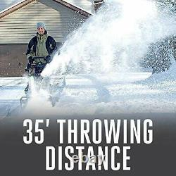 EGO Power+ SNT2102 21-Inch 56-Volt Cordless Snow Blower with Peak Power Two 5.0A