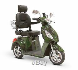 EWheels EW36 CAMO 3-Wheel Electric Powered Mobility Scooter FREE ALARM & NO TAX