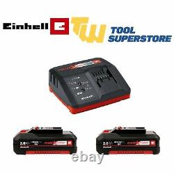 Einhell 18V Power X-Change Combi Drill & Impact Driver 2Ah Kit With Charger