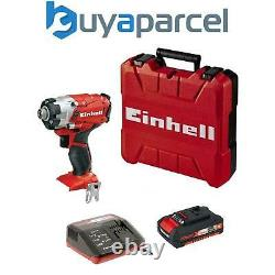 Einhell Cordless Impact Driver Inc 2ah 18v Batteries Power X Change TE-CI 18 LI