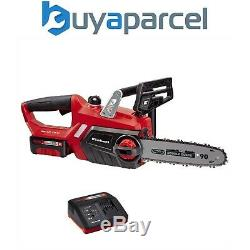 Einhell Power X Change Heavy Duty 18v Cordless Chainsaw 25cm Bar x1 Battery Kit