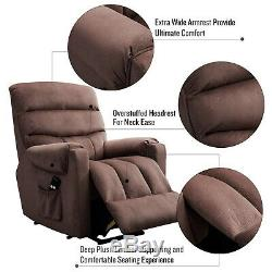 Electric Lift Chair Power Recliner for Elderly Heavy Duty Lounge Sofa Bedroom US