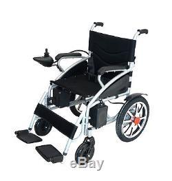 Electric Motorized Power Wheelchair Fold Lightweight Heavy Duty Electric Power