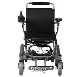 Electric Motorized Wheelchair Folding Lightweight Heavy Duty Electric Power UA