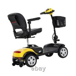 Electric Power Foldable Scooter Senior Mobility Scooter 4 Wheel Drive Travel