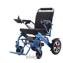 Electric Wheelchair Folding Heavy Duty Lightweight Mobility Power Chair Portable