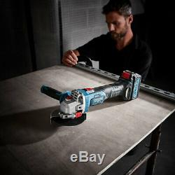 Erbauer EXT Brushless Cordless 18V 115mm Angle Grinder Heavy Duty DIY Power Tool