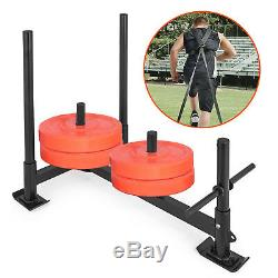 Fitness HD Speed Weight Sled Power Low Push Pull Heavy Duty Athlete Training