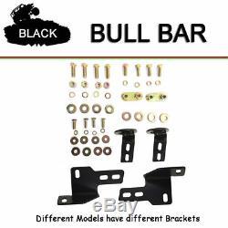 Fits 2004-2018 FORD F150 3 Black Round Bull Bar Brush Push Bumper Grill Guard