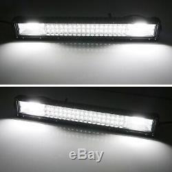 Flood/Spot Beam LED Light Bar withLower Bumper Mounts, Wiring For RAM 2500 3500