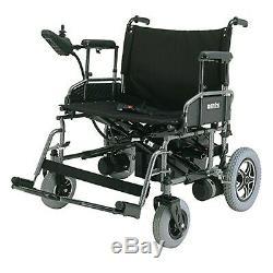 Folding Heavy Duty Power Wheelchair, 22 Wide Seat, 450 lb Weight Capacity