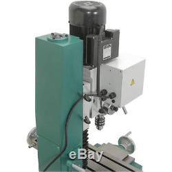 G0761 Heavy-Duty Benchtop Mill/Drill with Power Feed and Tapping