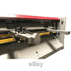 GMC Heavy Duty Hydraulic Shear with 36 Power Back Gauge HS-1010E