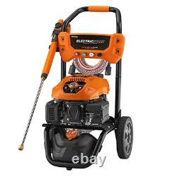 Generac 3100 PSI (Gas Cold Water) Pressure Washer with Electric Start, Power