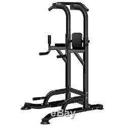 Graft Heavy Duty Power Tower Dip AB Pull/Chin Up Bar KNEE/LEG Workout Station
