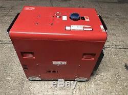 HEAVY DUTY POWER SYSTEMS HDI7000RWB Deisel Generator 12 HP