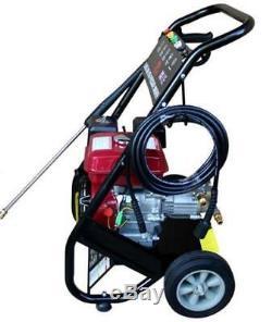 Heavy Duty 2500PSI 170 Bar Petrol Driven Pressure Power Jet Washer Portable C