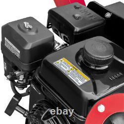 Heavy Duty 6.5HP Heavy Duty 212cc Gas Powered 31 Wood Chipper Shredder with Wheel