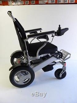 Heavy Duty Aluminum Foldable Wheelchair Electric Power Propelled Lightweight