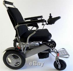 Heavy Duty Aluminum Foldable Wheelchair Electric Power Propelled Lightweight New