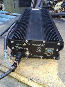 Heavy Duty Military Grade Switch Mode Power Supply 110v 240v 26 V / 25a - 46a