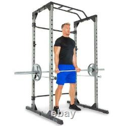 Heavy Duty Power Cage Squat Rack with Lock-in J-Hook 800 LB Capacity Weight Lift