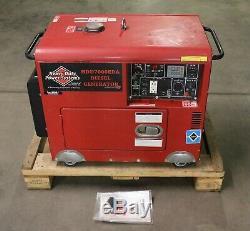 Heavy Duty Power Systems HDD7000EDA Diesel Generator 7000 Watts, 0.3 Hours