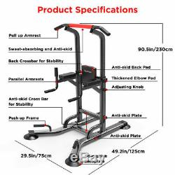 Heavy Duty Power Tower Station Durable Body Pull Up Bar For Home Multi-Function