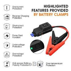 Heavy Duty Truck Battery Booster Pack Jump Starter Box Portable 2000 Amps Power