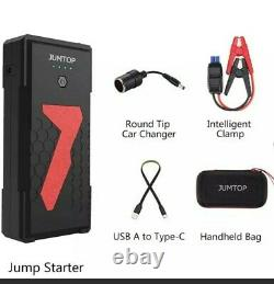Heavy Duty Truck Battery Booster Pack Jump Starter Box Portable 3000 Amps Power