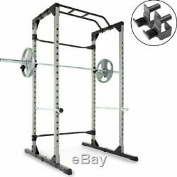 Home Gym Power Rack Cage Steel Frame Strength Training Olympic Heavy Duty Large