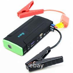 Indigi 12800mAh Heavy Duty Portable Jump Starter Power Bank iPhone Tablet Laptop