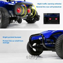 Innuovo 4 Wheel Power Mobility Scooter Heavy Duty Travel Portable New