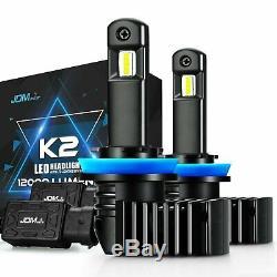 JDM ASTAR 2x K2 12000LM H11 LED Car Fog/ Cornring Light/ Bulbs Lamp Xenon White