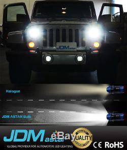 JDM ASTAR 8TH H13/9008 LED Headlight High Low Beam Bulbs DRL Running Light White