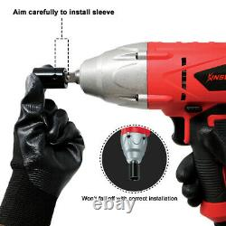 Kinswood Heavy Duty Impact Wrench Corded 110V 6A 3200RPM With 4pcs Sockets