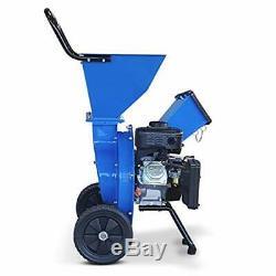 Landworks Super Heavy Duty 7HP 212cc Gas Powered Wood Chipper Shredder Chipping