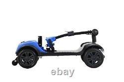 Lightweight Foldable Mobility Scooter Automated Electric Power Scooter Blue/Red