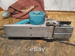 Makita 1100 Power Planer 110v Heavy Duty Wood Thicknesser finishing sander