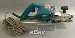Makita Power Planer Model 1100 Heavy Duty In Metal Carry Case VGC Tested Works